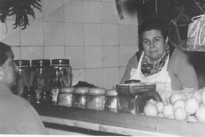Primera generación de la tienda. Años 60